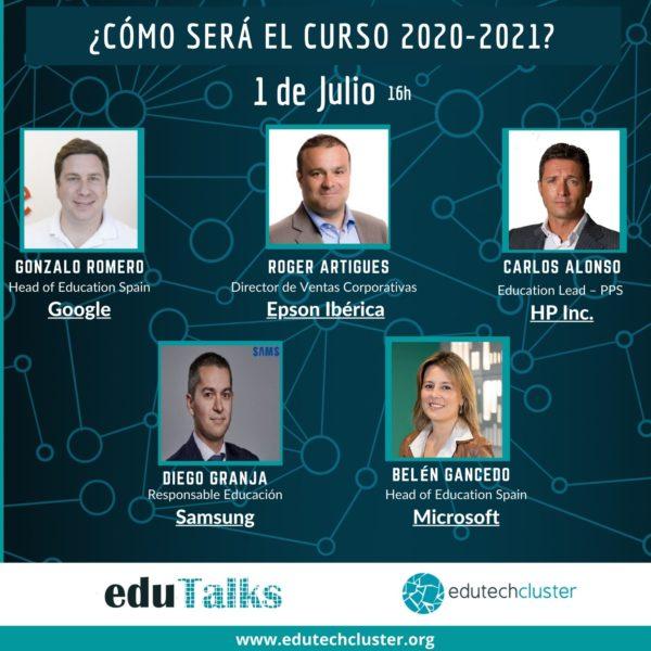 EduTalk: ¿Cómo será el curso 2020-2021?
