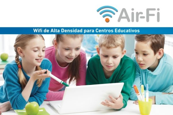 AIR-FI, high-capacity WiFi for schools