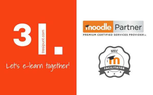 3ipunt empresa facilitadora oficial del Moodle Educator Certification (MEC) acreditados por Moodle